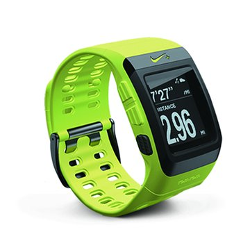 Tomtom 通騰 NIKE+SPORTWATCH GPS 運動手錶 (螢光黃)(福利品出清)