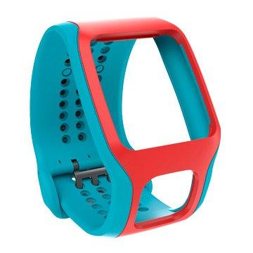 Tomtom 通騰 心率錶錶帶-青紅(福利品出清)