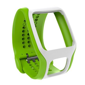 Tomtom 通騰 心率錶錶帶-白綠(福利品出清)