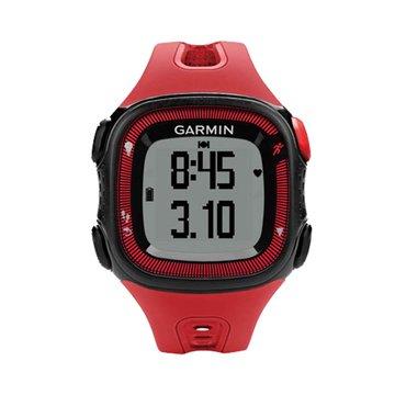 GARMIN Forerunner15 三合一運動健身跑錶紅(福利品出清)