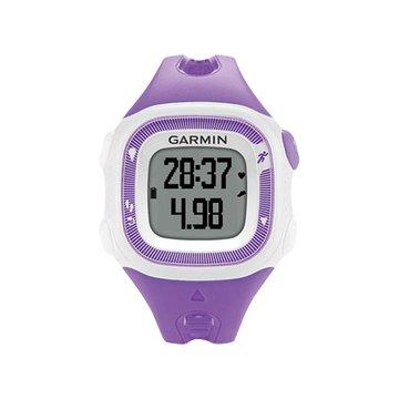GARMIN Forerunner15 三合一運動健身跑錶紫(福利品出清)