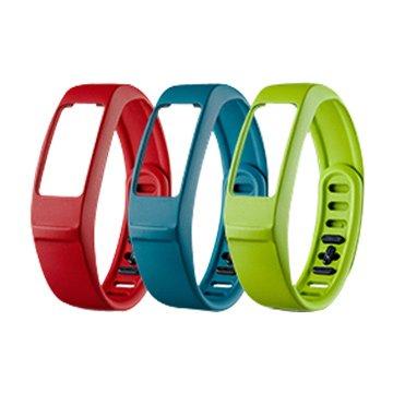 GARMIN vivofit2 替換腕帶(大)綠/藍/紅(福利品出清)