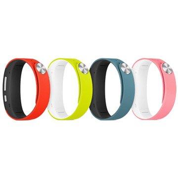 SONY 新力牌 SWR310風格款手環L號(粉紅/萊姆綠)