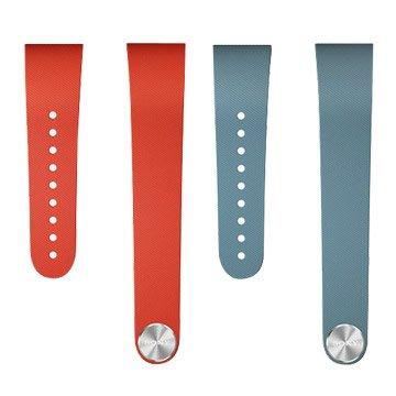 SONY 新力牌 SWR310典雅款手環L號(紅/藍)