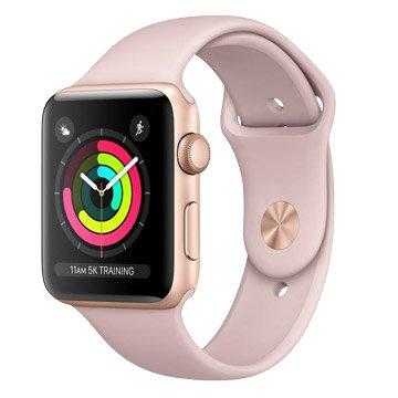 APPLE 蘋果 Watch S3 GPS 38mm金色鋁金屬-粉沙色(福利品出清)