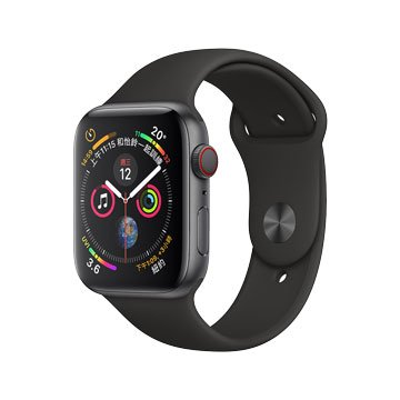 APPLE  Watch Series4 GPS行動網路版44mm-灰