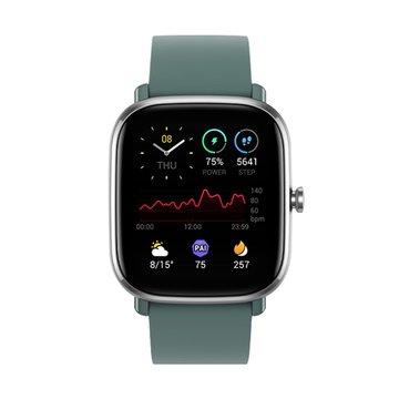 AMAZFIT 華米GTS 2 mini超輕薄健康運動智慧手錶-綠