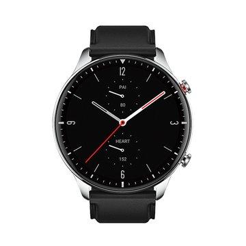 AMAZFIT 華米GTR 2無邊際螢幕健康智慧真皮手錶-不鏽鋼版