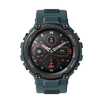 AMAZFIT 華米【Amazfit】2021升級版T-Rex Pro軍規認證智能運動智慧手錶-藍
