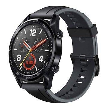 HUAWEI 華為Watch GT曜石黑矽膠運動錶