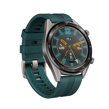 HUAWEI 華為華為Watch GT鈦灰色-墨綠色錶帶