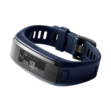 GARMIN vivosmart HR iPass員購手環/藍(福利品出清)