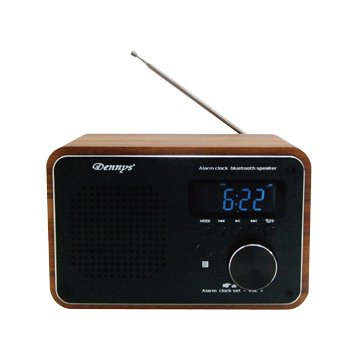 Dennys WS-M20 摩登 藍芽+USB+鬧鐘收音機