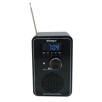 Dennys WS-M30 黑寶石 FM+USB藍芽鬧鐘音響