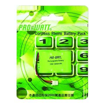 PRO-WATT 華志 P-9 無線電話電池(三洋頭)