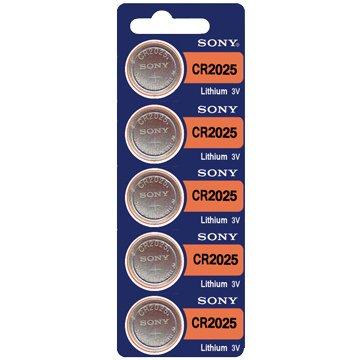 SONY 新力牌 CR2025 鈕扣電池