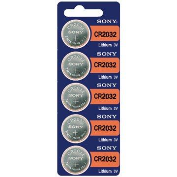 SONY 新力牌 CR2032 鈕扣電池