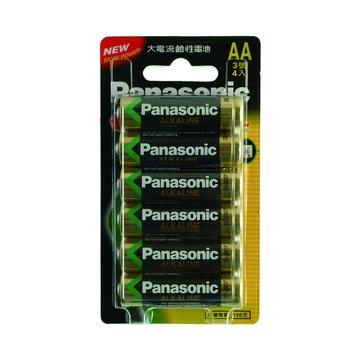 Panasonic 國際牌 國際牌3號鹼性電池4+2入