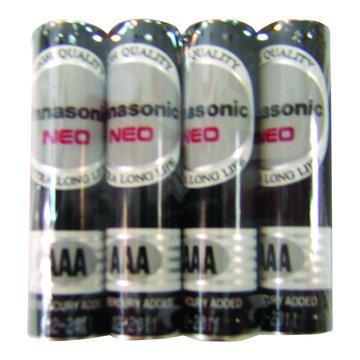 Panasonic 國際牌 國際牌3號碳鋅電池 4入