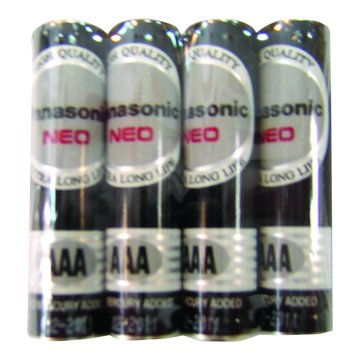 Panasonic 國際牌 國際牌4號碳鋅電池 4入