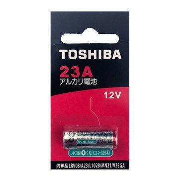 TOSHIBA 東芝 A23柱型電池 (1入)