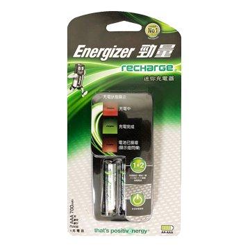 Energizer 勁量新迷你充電器(附4號2入)