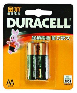 DURACELL 金頂3號鹼性電池*2