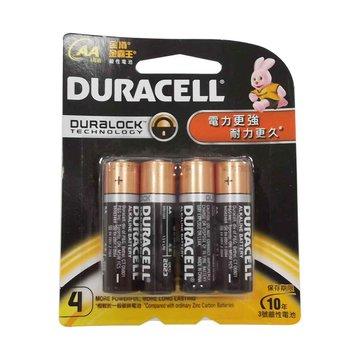 DURACELL 金頂新金頂鹼性電池3號4入