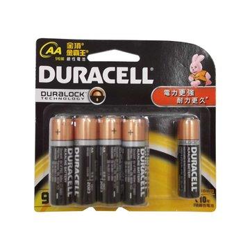 DURACELL 金頂 新金頂鹼性電池3號8+1入