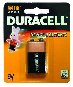 DURACELL 金頂鹼性9V*1