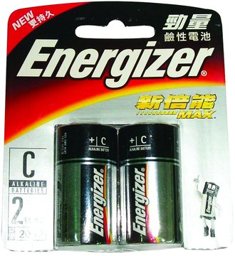 Energizer 勁量勁量鹼性2號2入