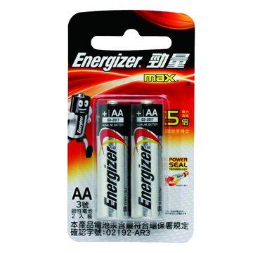 Energizer 勁量 勁量鹼性3號2入