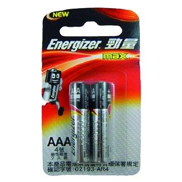 Energizer 勁量勁量鹼性4號2入