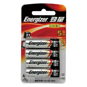 Energizer 勁量勁量鹼性3號4入
