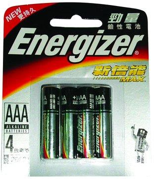 Energizer 勁量勁量鹼性4號4入