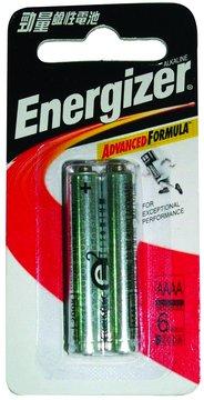 Energizer 勁量勁量鹼性6號2入