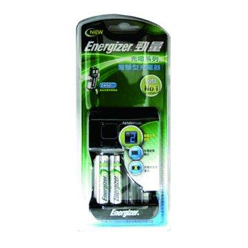 Energizer 勁量智慧型充電器(附低自放3號*2)