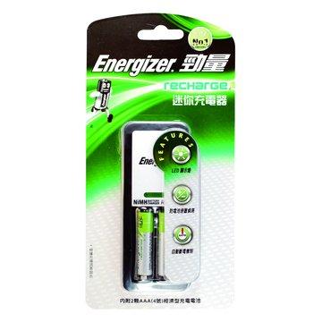 Energizer 勁量勁量迷你充電器(附4號2入)