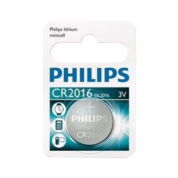 PHILIPS 飛利浦CR2016 鈕扣電池