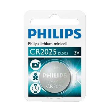 PHILIPS 飛利浦 CR2025 鈕扣電池