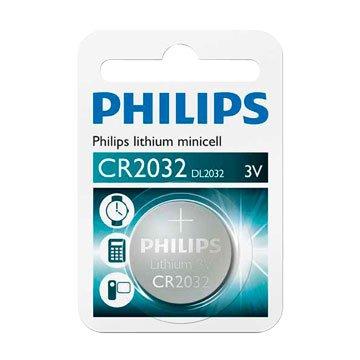 PHILIPS 飛利浦 CR2032 鈕扣電池