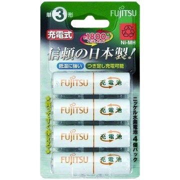 FUJITSU 富士通富士通日製低自放電3號1900mAh*4