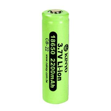 KINYO 金葉 18650鋰電池/2200mAh/1入