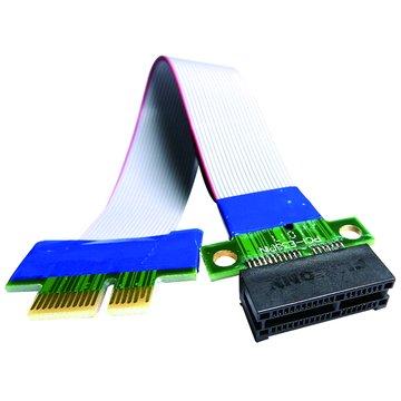 S.C.E 世淇PCI-E 1X 延長轉接線 20CM