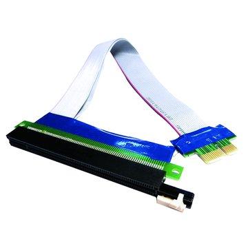 S.C.E 世淇 PCI-E 1X 轉16X延長線 20CM