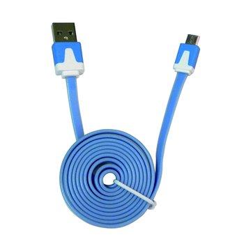 vision 創視USB A公/Micro USB 1M螢光充電傳輸線