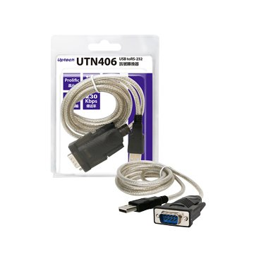 Uptech UTN415 USB to RS-232 FTDI訊號轉換器 1.3M
