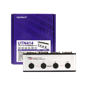 Uptech UTN414 USB to RS-232訊號轉換器(4-Port)
