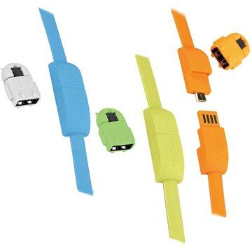 INTOPIC 廣鼎 USB2.0A公/Micro USB+OTG傳輸線