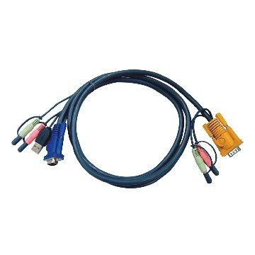 ATEN 宏正 USB KVM介面切換器連接線 3M 2L-5303U